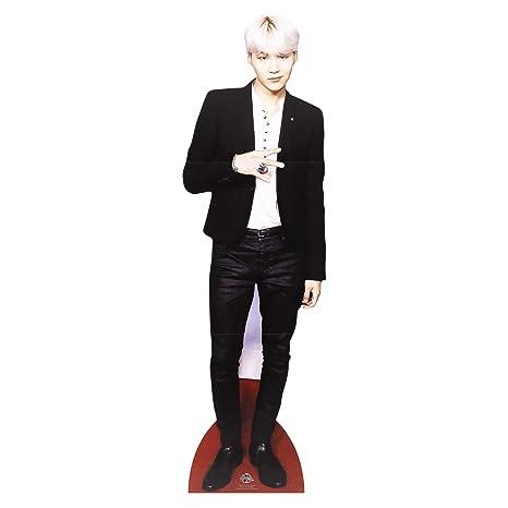 Lifesize Cardboard Cutout with Free Desktop Cutout of Min Yoon-Gi (Suga)  Bts Bangtan Boys