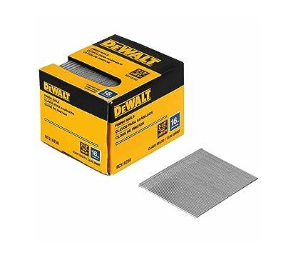Dewalt dcs16200 2 inch by 16 gauge finish nail 2 500 per box dewalt dcs16200 2 inch by 16 gauge finish nail 2500 per box greentooth Gallery