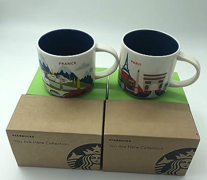 Here Are SetStarbucks You Yah Mug Mugs Parisfrance 2 14 Oz WEH29DIY