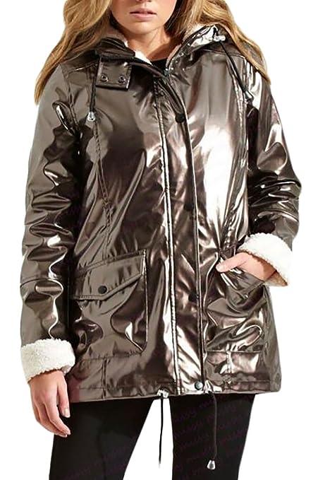CBTLVSN Mens Winter Puffer Coat Casual Fur Collar Warm Outwear Jacket