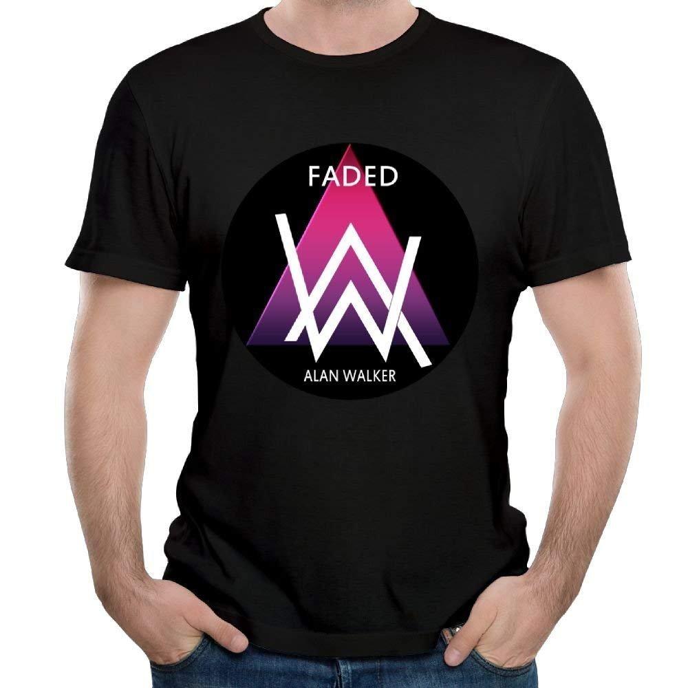 Alan Walker Logo Short Sleeve Casual S For Shirts