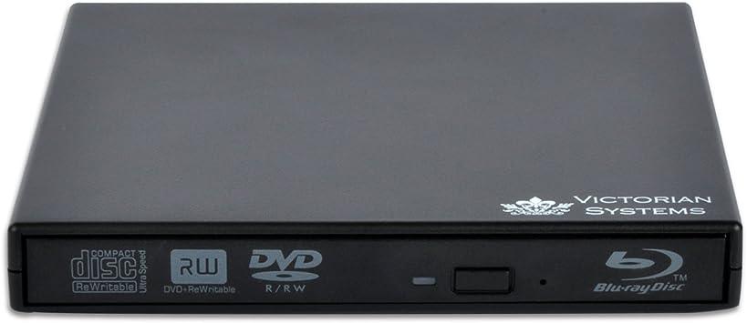 Grabador externo de DVD y CD y lector de Blu-ray para portátiles y ...