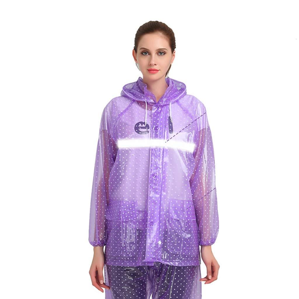 B X-grand Hyuyi Imperméable Adulte épaississeHommest Split Costume Pantalon Imperméable Imperméable Randonnée Imperméable (Couleur   B, Taille   XXXL)