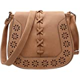 Vintage Shoulder Bag For Women Fresh Style Hollow out Crossbody Bag Woven Braided HandBag