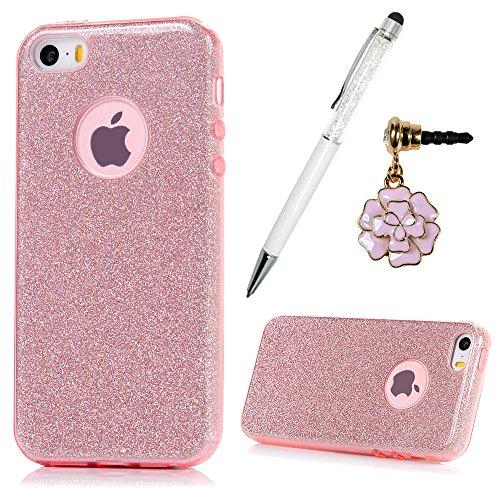 iphone-se-case-iphone-5-5s-case-yokirin-shiny-series-bling-crystal-ultra-thin-sparkle-premium-3-laye