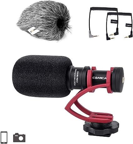 Comica CVM-VM10II Compact en la cámara Micrófono Cardioid ...