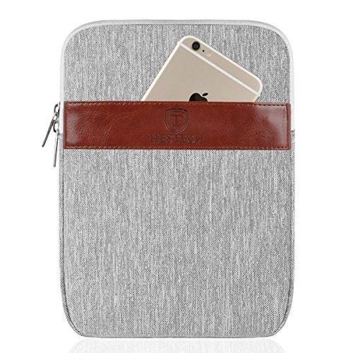 iPad Pro 10.5 Sleeve, HESTECH Tablet Carrying Case Sleeve Compatible for 9.7-10.5 New iPad 2018 | iPad Air 2 |iPad 2,3,4 | Samsung Galaxy Tab A 10.1, Apple Pencil & Keyboard Compatible ()