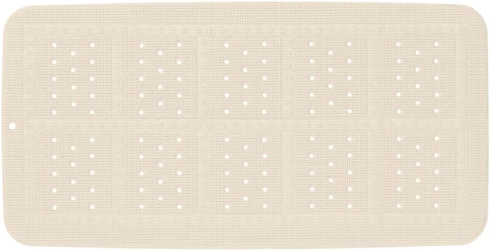 35 x 70 x 0.3 cm Sealskin Alfombra de Ba/ño Antideslizante Unilux Beige PVC