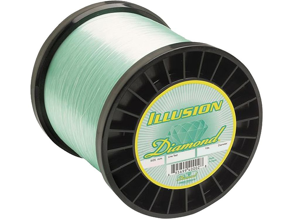Diamond Illusion Monofilament Line - 1 lb. Spool - 30 lb. - 2020 yd. - Mystic Green