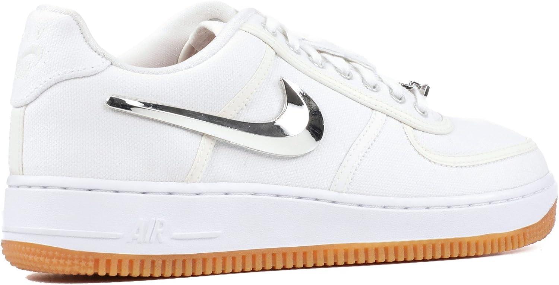 Nike Air Force 1 Low 'Travis Scott' AQ4211 100: Amazon.it