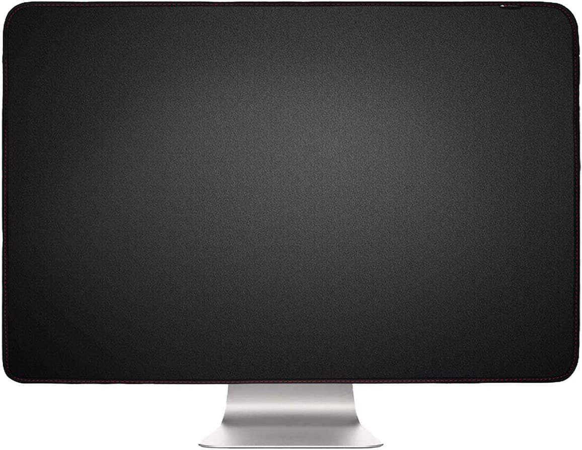 Protector anti polvo para iMac 21.5 (21.5 pulgadas, negro)
