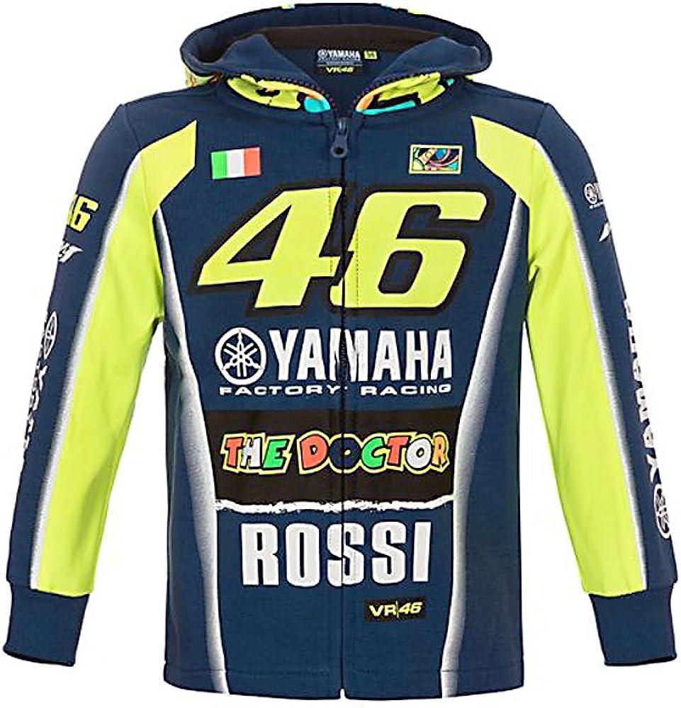 VALENTINO ROSSI T-Shirt Enfant VR46 Yamaha Factory M1 Racing Officiel MotoGP