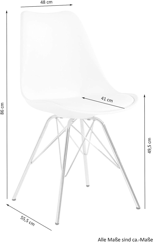 Homexperts Set di sedie URSEL