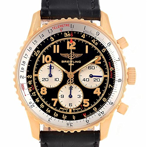 Breitling Navitimer automatic-self-wind mens Watch K30022 (Certified Pre-owned) - 92 Automatic Rose