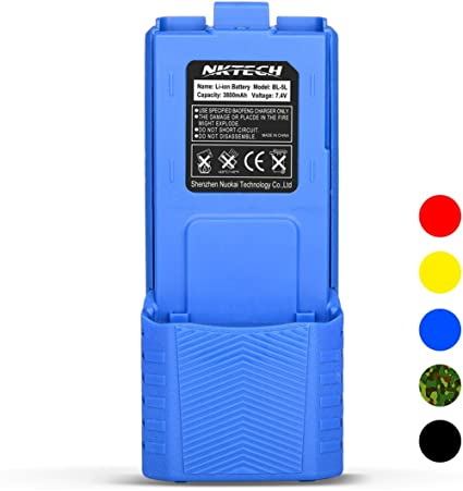 Baofeng Blue EXTENDED Li-ion Battery Baofeng UV-5R V2 Baofeng BF-F8 BF-F9 V2+