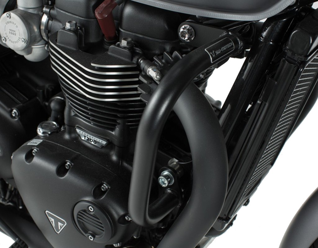 SW-MOTECH Crash Bars Engine Guards For Triumph Bonneville T120 16-18 Thruxton 1200 16-18 /& Street Twin 16-18