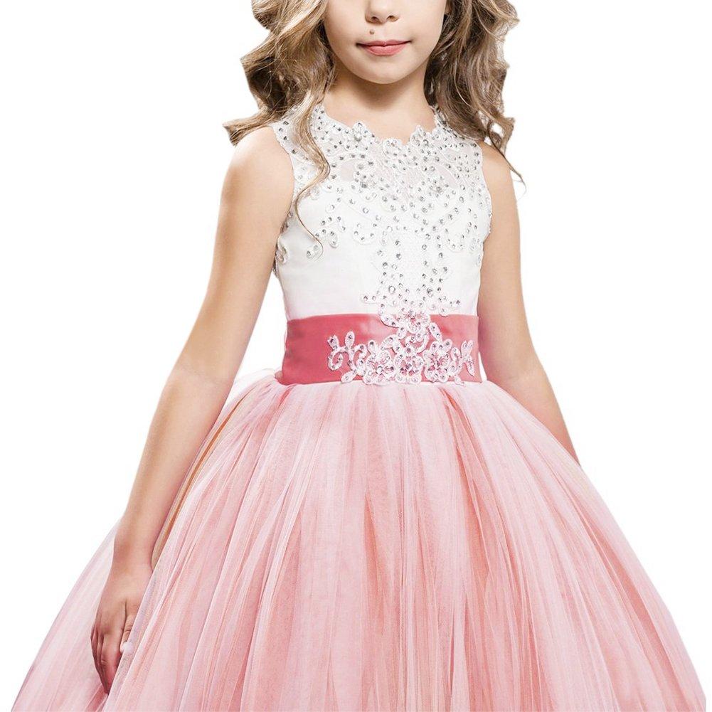 Vestido de Bowknot Princesa de Fotografía Encaje con Appliques ...