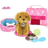 """Sophia's Pets for 18"""" Dolls, Complete Puppy Dog Play Set, Perfect Doll Toy for 18"""" American Girl Dolls & More! Cuddly Dog, Le"""