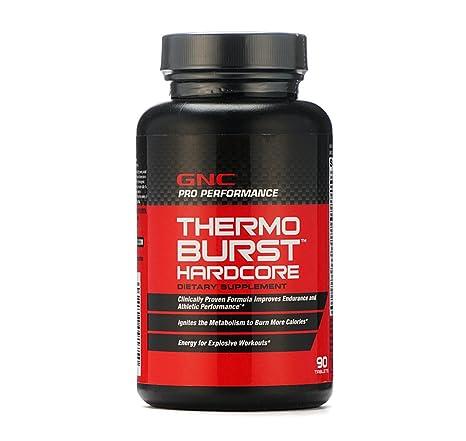 Gnc Thermoburst Hardcore 90 Tablets Thermogenic Fat Burner