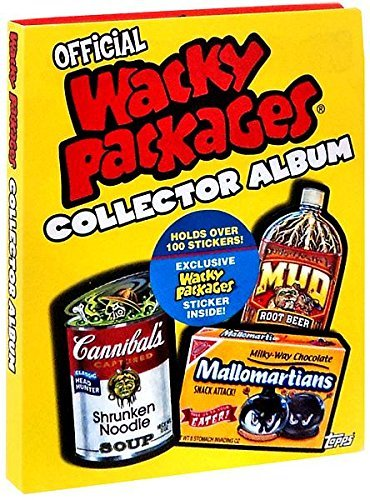 2006 Topps Wacky Packages Collector Album - Holds Over 100 Wacky Packages Stickers Plus Includes 1 Bonus Sticker Exclusive to the Album!!