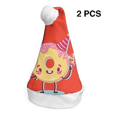 Amazon.com: Gorro de Papá Noel para cumpleaños, feliz ...