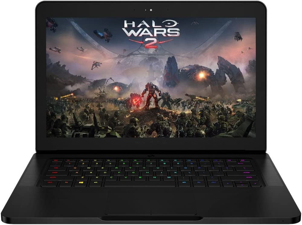 Razer Blade RZ09-01953E72 14.0in Widescreen Renewed Standard Laptop - Intel Core i7-7700HQ 2.80GHz, 16GB RAM, SATA 2.5in 512GB SSD, No Optical, Windows 10 Home 64-Bit - Webcam - Bluetooth