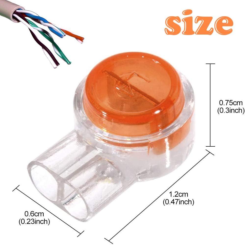 BITEFU riempitivo di grasso per cavo telefonico cavo di rete interfaccia UY con gel sigillante 300 connettori K1 Scotchlok per cavo telefonico