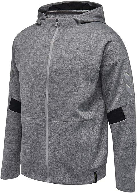 TALLA S. Hummel TECH Move Zip Hood - Sudadera con capucha para hombre