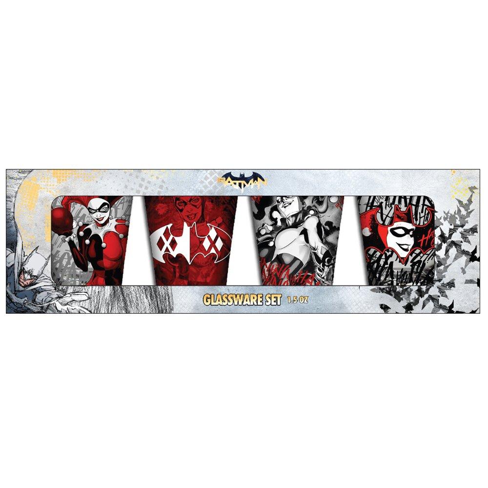 Silver Buffalo HQ113642 DC Comics Harley Quinn Ragdoll Hard Cover Journal 6 x 8