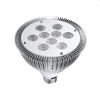 50pcs Epistar Chip 9W LED Luz Par30 LED Bombilla Dimmable COB Plafón Lámpara Iluminación, aluminio