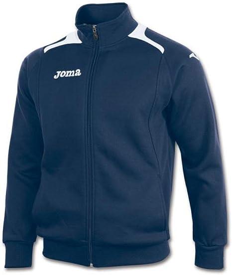 Joma - Champion II Sweatshirt Zip Junior, Color Azul, Talla 4 ...