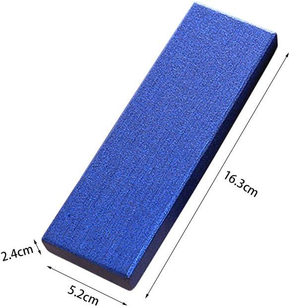 Exquis coffret /à stylo /à bille Zhi Jin affaires bleu bijoux Lot de collection pour anniversaire Bo/îte magnifique rembourr/ée de coussin 5 bo/îtes vides