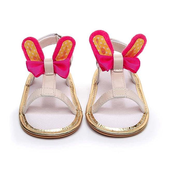 Amazon.com: Jieson - Sandalias de conejo para bebés y niños ...