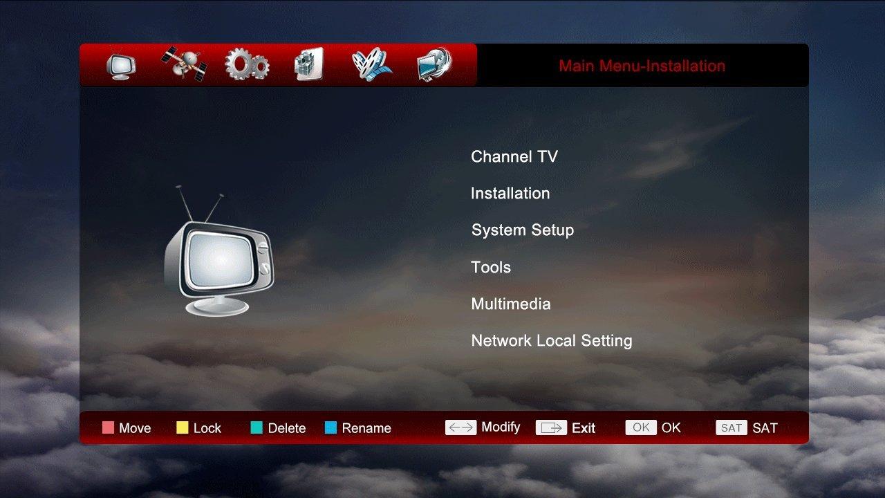 Best Tv Plus Dvb S2 Satellite Receiver Set Top Box Direct Wiring Diagram Swim Support Powervu Biss Key Cccam Newcam Youtube Youporn Via Usb Wifi With Us Power Plug