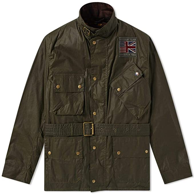 Barbour International Steve Mcqueen Joshua Wax Jacket ...
