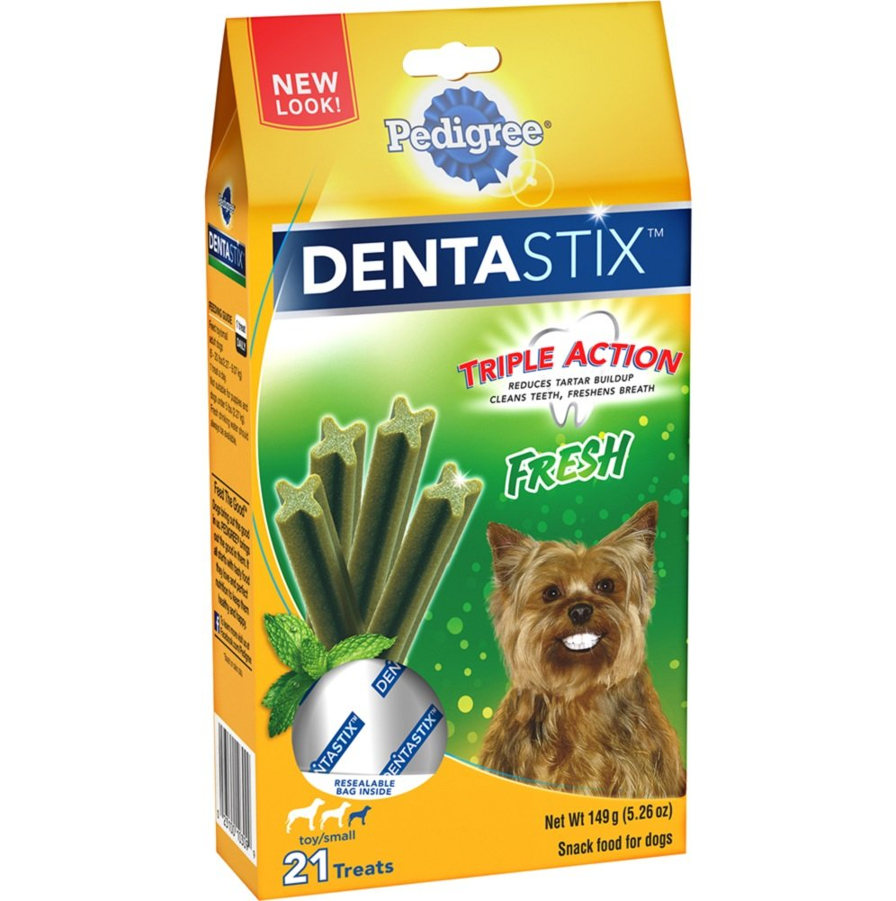Pedigree DENTASTIX Fresh Toy Small Treats for Dogs