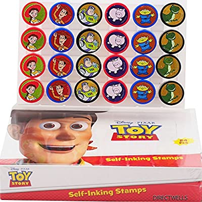 Amazon.com: Disney Toy Story sellos autom mano-ojo Caja de ...