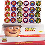 Disney Toy Story Self-inking Stamps Birthday Party Favors 24 Pieces (Complete Box)