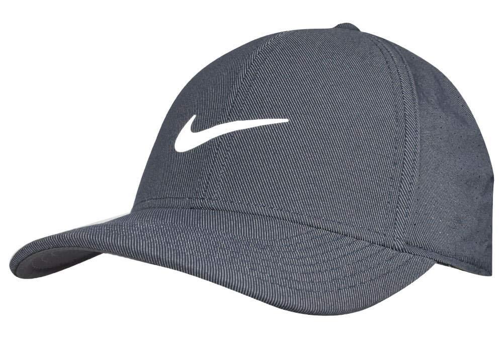 Obsidian Anthracite blanc Nike T-Shirt imprimé à Manches Courtes et col en V pour Femme