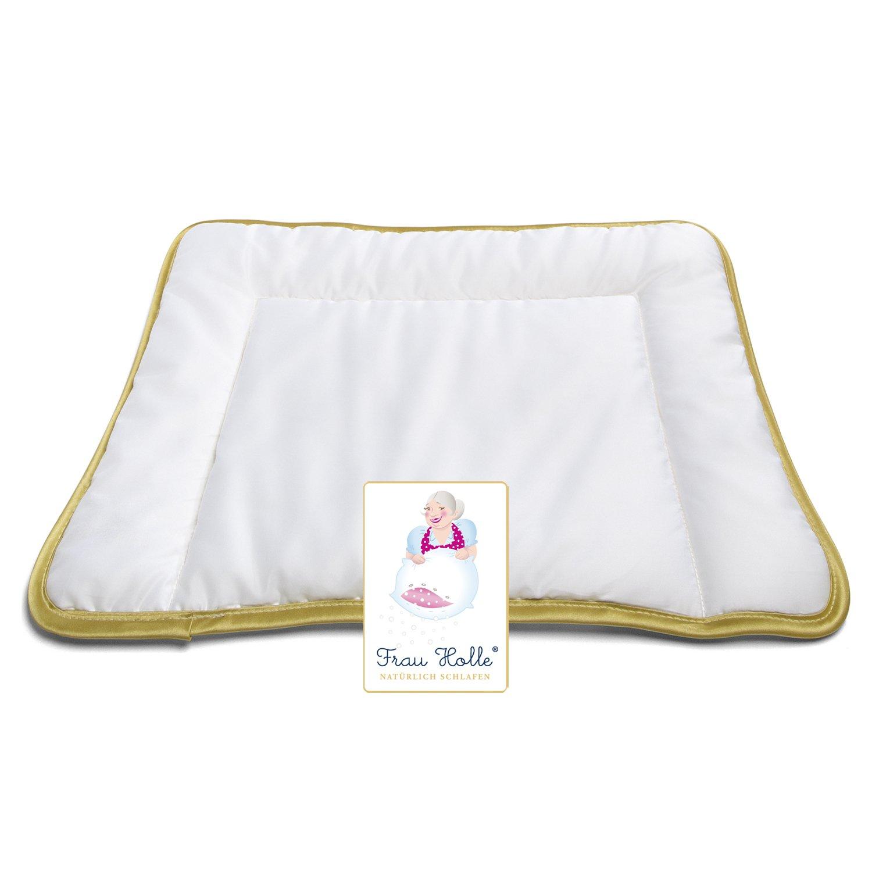 Frau Holle 112539Children's Pillow 40x 60cm–100% Pure New Wool, 100g Böhmerwald 1125-39