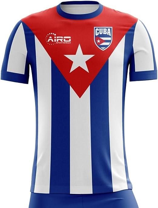 Airo Sportswear 2020-2021 Cuba Home Concept Football Soccer T-Shirt Camiseta: Amazon.es: Deportes y aire libre