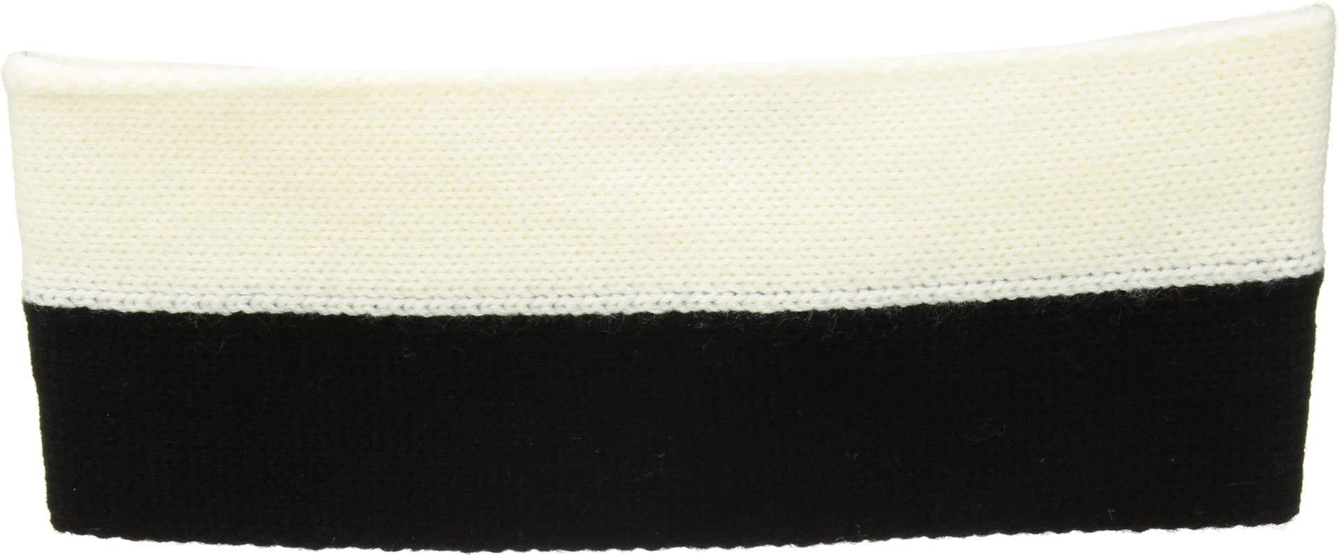 Kate Spade New York Women's Striped Headband, Black/Cream, One Size by Kate Spade New York (Image #2)