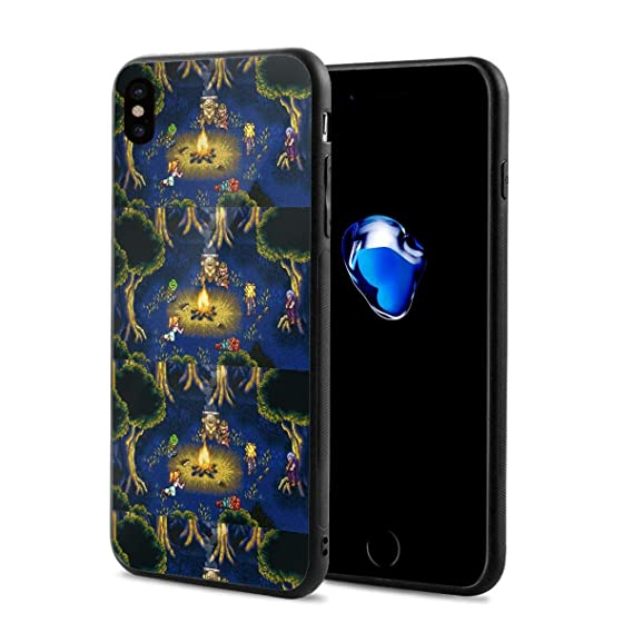 quality design b3fa3 80250 Amazon.com: iPhone Xs Case, iPhone X Case Chrono Trigger Camping ...
