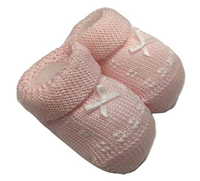 new product f1d32 68c94 Gallo babbucce neonato rosa in puro cotone: Amazon.it ...
