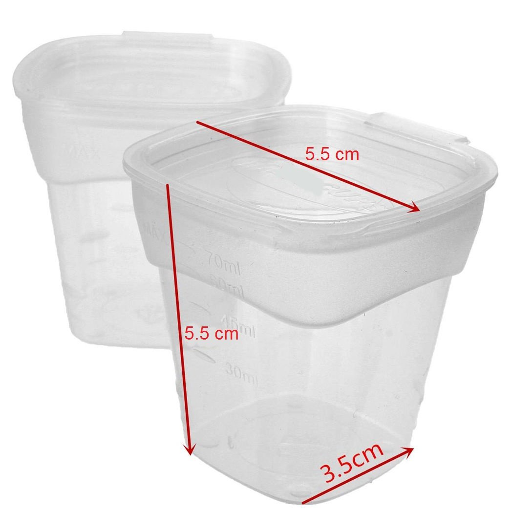 Plastic Baby Food Container for Breast Milk and Other Baby Foods Freezer 8pcs