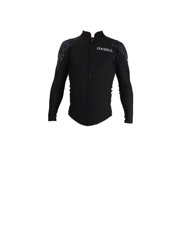 19 O'NEILL(オニール) 2019年モデル バリュー フロントジップ 長袖タッパー 春夏用 SUPER FREAK (スーパー フリーク) ウェットスーツ ウエットスーツ メンズモデル 品番WF-6000 日本正規品 Lサイズ タイドブラック