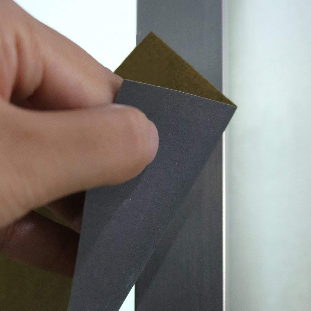 REFURBISHHOUSE Grit 1500 2000 2500 3000 5000 7000 Levigatura Ad Alta Precisione Levigatura Carta Abrasiva Umida//Asciutta Confezione da 12 Germania