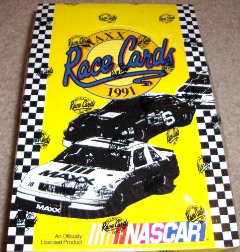 1991-maxx-nascar-race-cards-unopened-box-36ct
