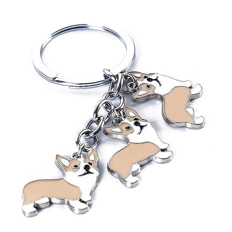 Beiswin - Llavero con Colgante de Bulldog francés para Perro ...