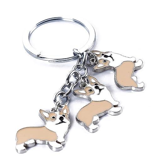 Beiswin - Llavero con diseño de Bulldog francés, diseño de ...
